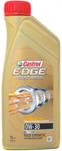 Моторное масло CASTROL EDGE TURBO DIESEL 0W30