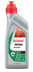 Моторное масло CASTROL ACT-EVO 2T 12X1L, л