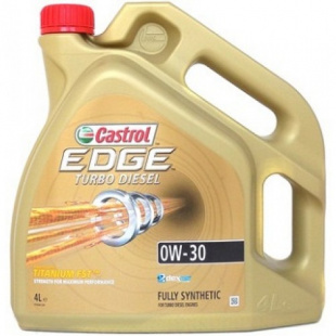 Моторное масло CASTROL EDGE TURBO DIESEL 0W30 4л, л