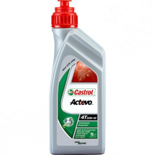 Моторное масло CASTROL ACT-EVO 4T 10W-40 12 X 1 LT, л