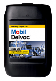 Моторное масло Mobil Delvac Super 1400   10W-30