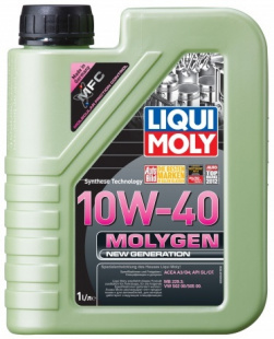 Моторное масло LIQUI MOLY Molygen New Generation 10/40