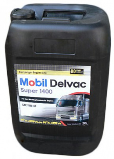 Моторное масло Mobil Delvac Super 1400  E 15W-40