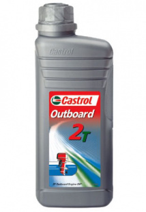 Моторное масло CASTROL OUTBOARD 2T 1л, л